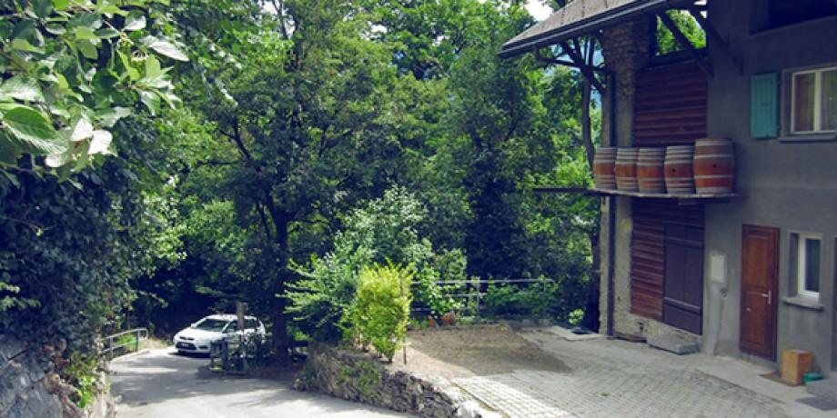 Chemin des pressoirs