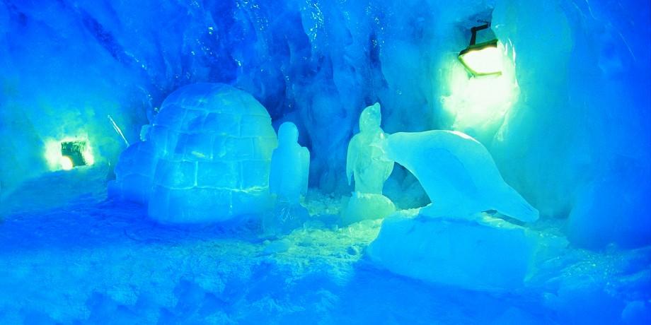Der höchstgelegene Gletscher Palast der Welt