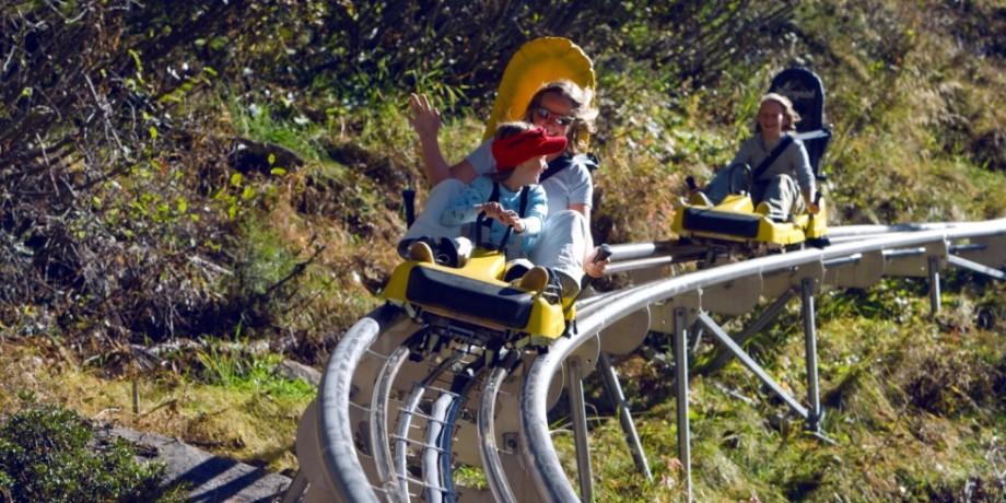 Feeblitz bobsled run