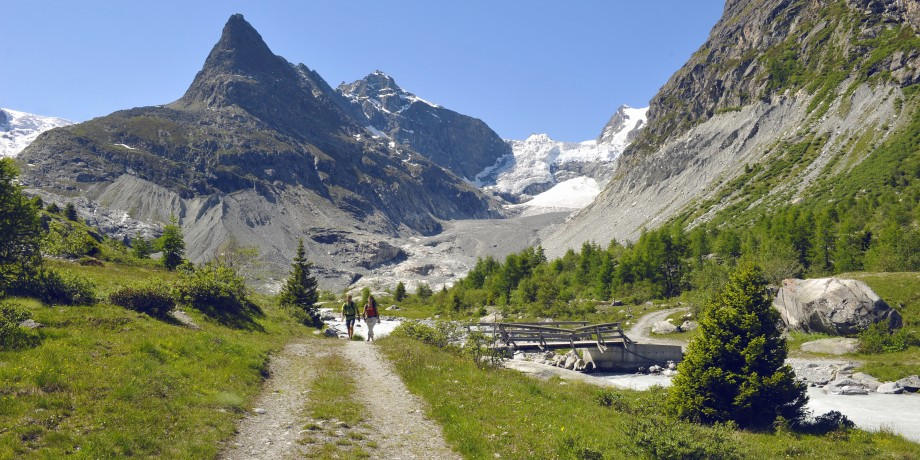 Ferpècle-Gletscher