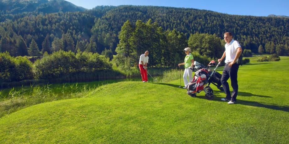 Golf Club Source du Rhône (1'350 Meter)