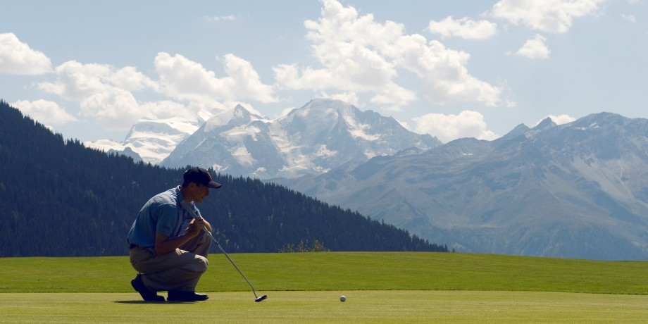 Golf Club Verbier (1'500 Meter)