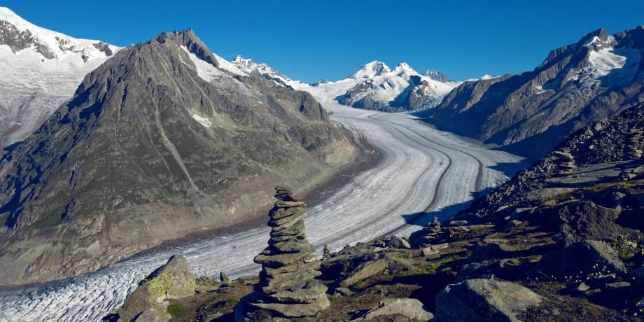 Unesco World Heritage Swiss Alps Jungfrau-Aletsch
