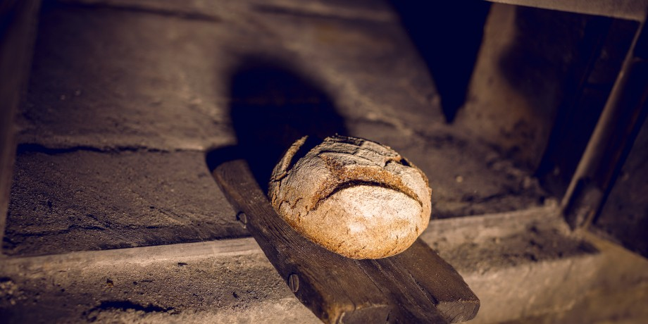Roggenbrot backen in Le Cotterg