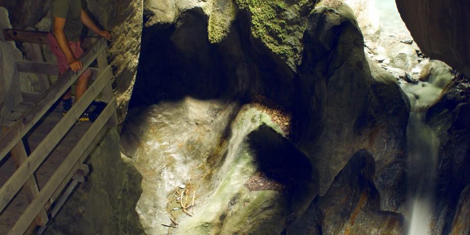 Trient Gorge & Pissevache waterfall
