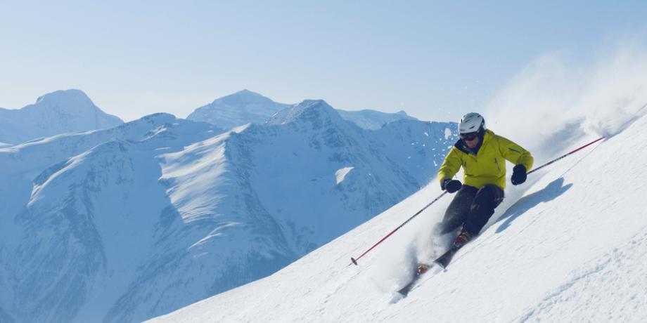 Ski resort Aletsch Arena