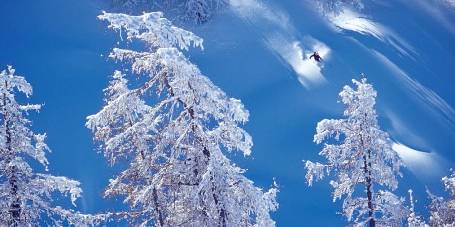 Skigebiet Bruson