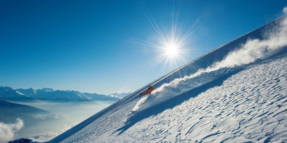 Skigebiet Crans-Montana