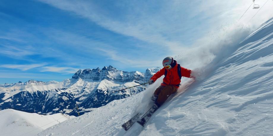 Ski resort Les Crosets