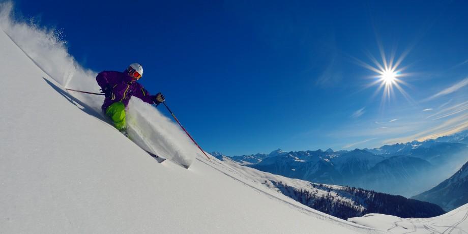Ski resort Leukerbad