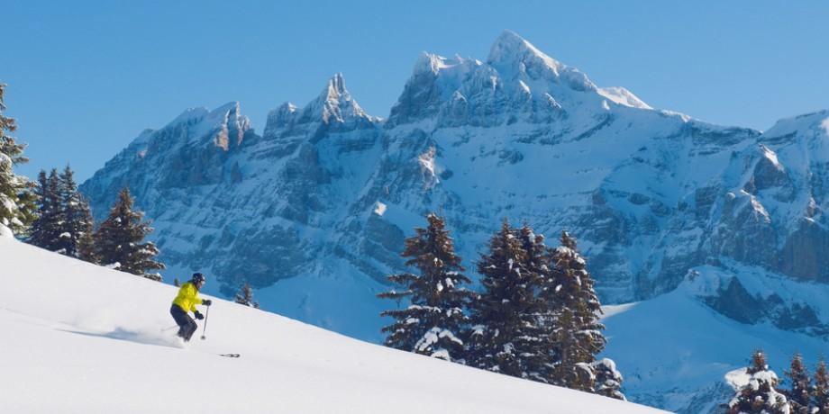 Ski resort Portes du soleil