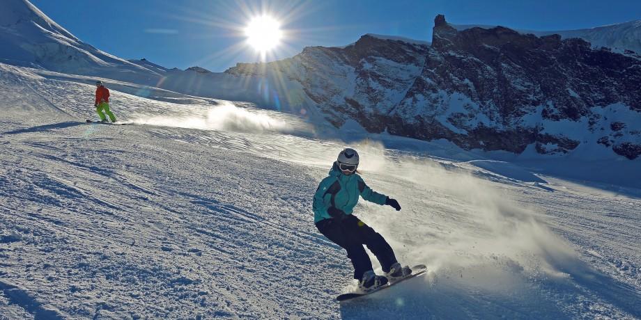 Domaine skiable de Saas-Fee