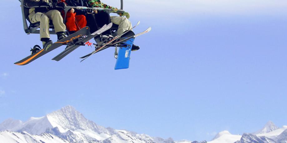 Ski resort Thyon