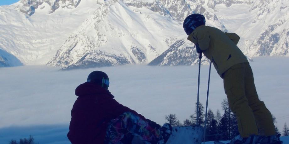 Ski resort Unterbäch-Brandalp