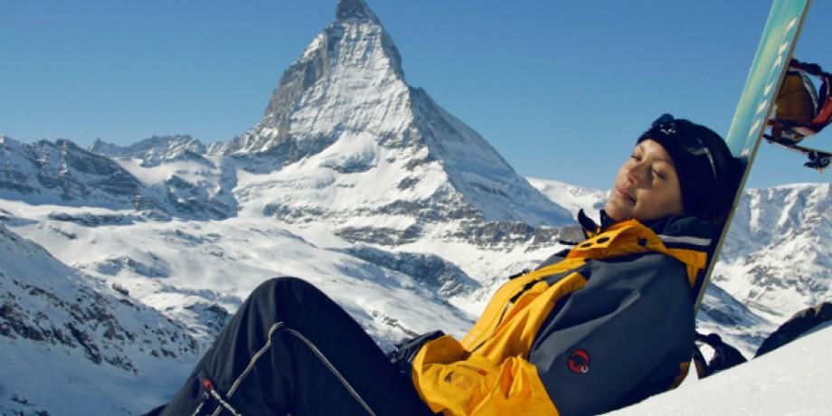 Ski resort Zermatt-Matterhorn