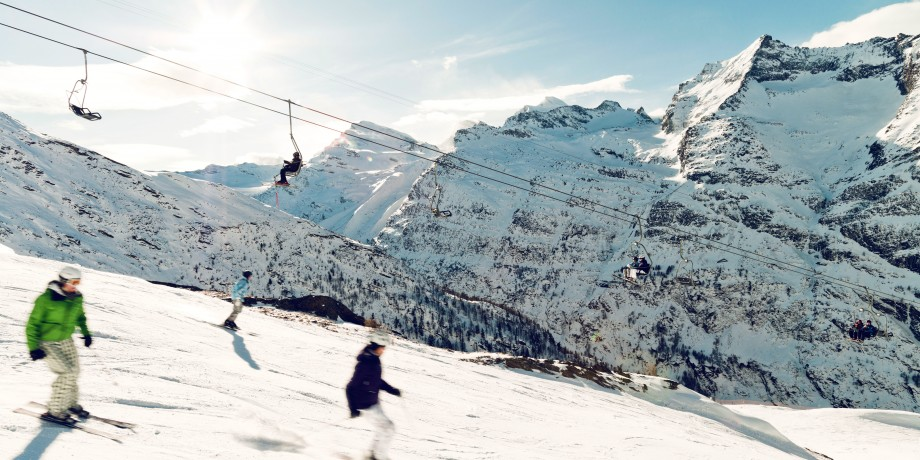 Ski resort Saas-Almagell