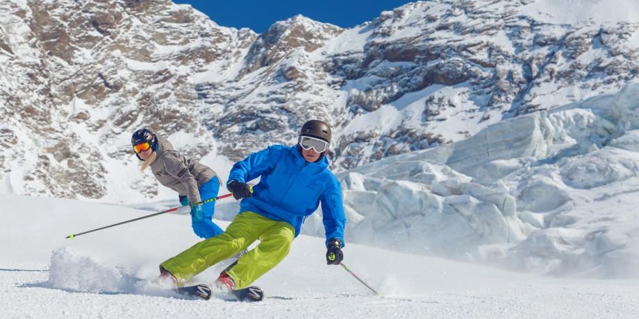 Skigebiet Saas-Grund