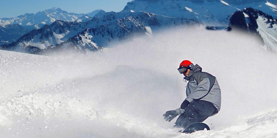 Ski resort Torgon