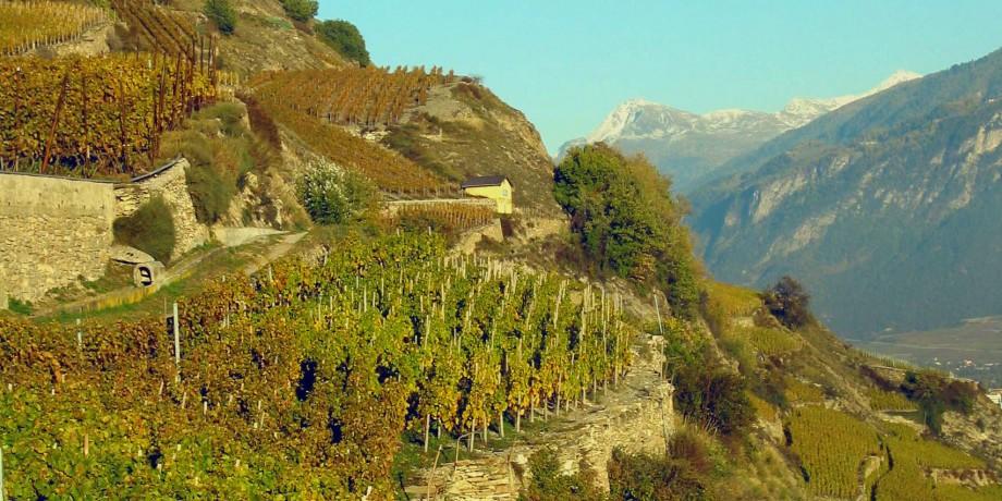 Suonen von Lentine und Mont d'Orge