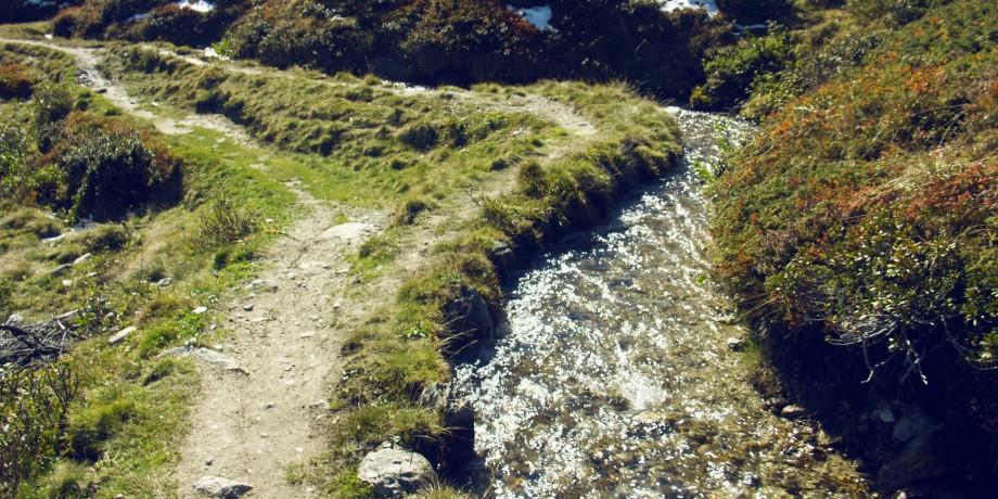 Nessjeri - Obersta - Stigwasser