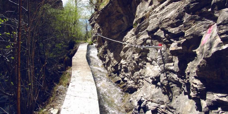 Obere Wasserleitung – Stägeru – Lüegjeru