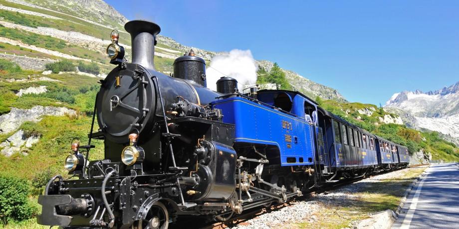 Steam Railway via Furka