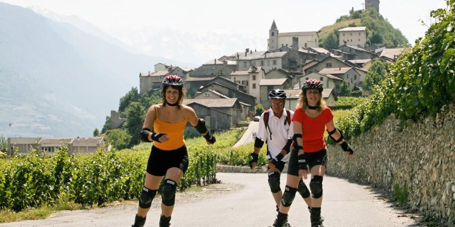 Rhone Skate: Sierre-Martigny
