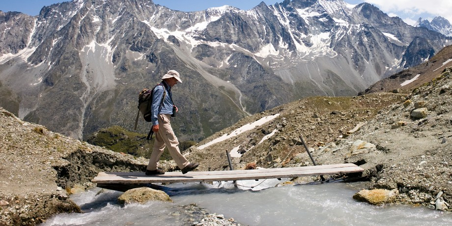 Tour du Val d'Hérens: Grande Dixence bis Arolla