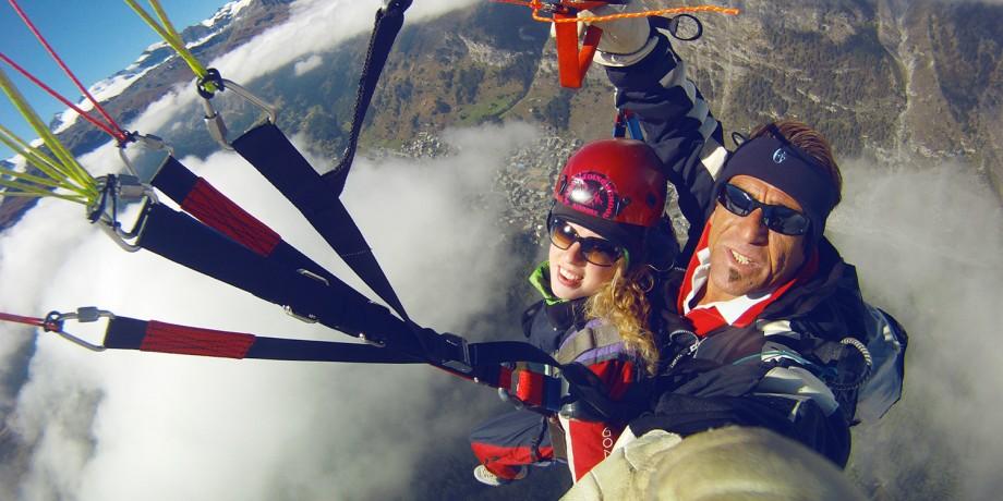 Paragliding Zermatt
