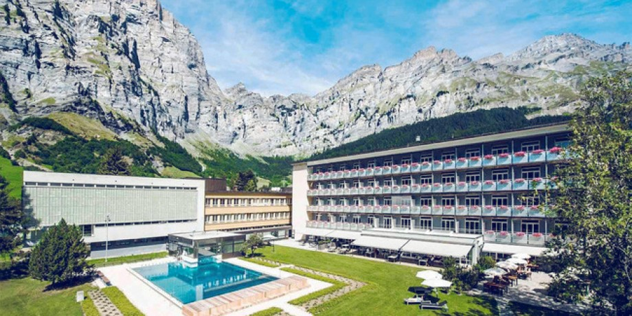 Système de santé suisse: clinique Loèche-les-Bains