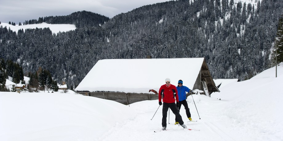 Cross-country skiing in Morigns