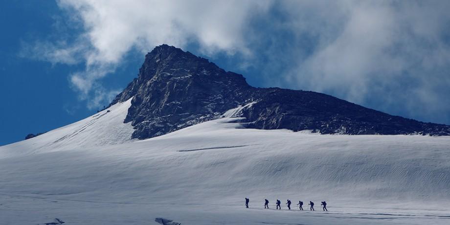 Grand Désert Glacier