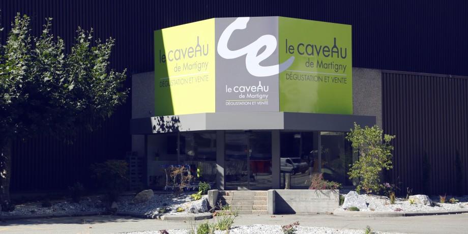 Caveau Rouvinez in Martigny