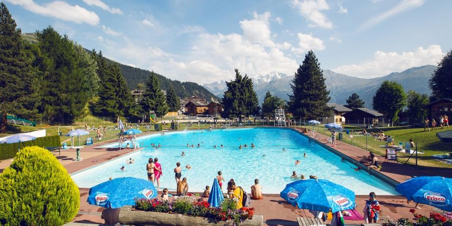 Outdoor pool Verbier