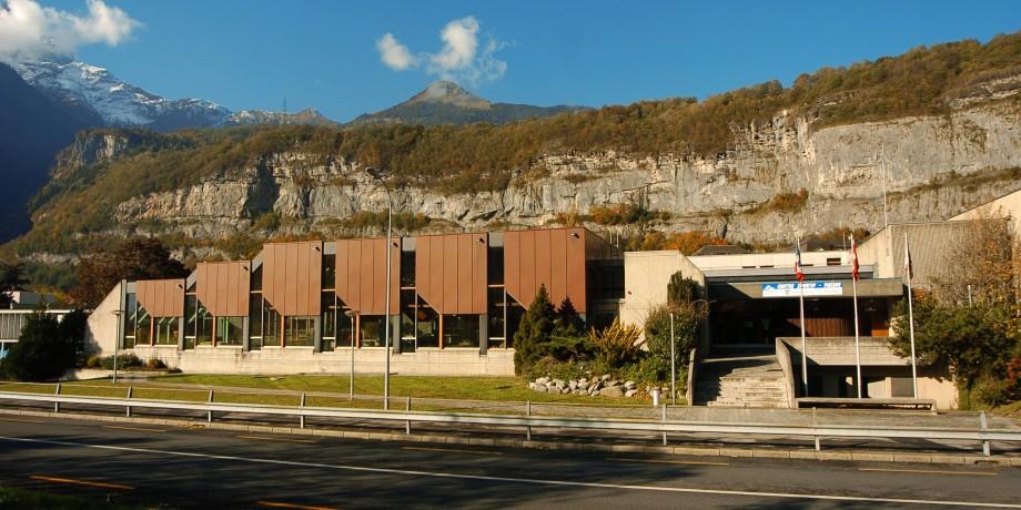 Piscine couverte du centre sportif St-Maurice