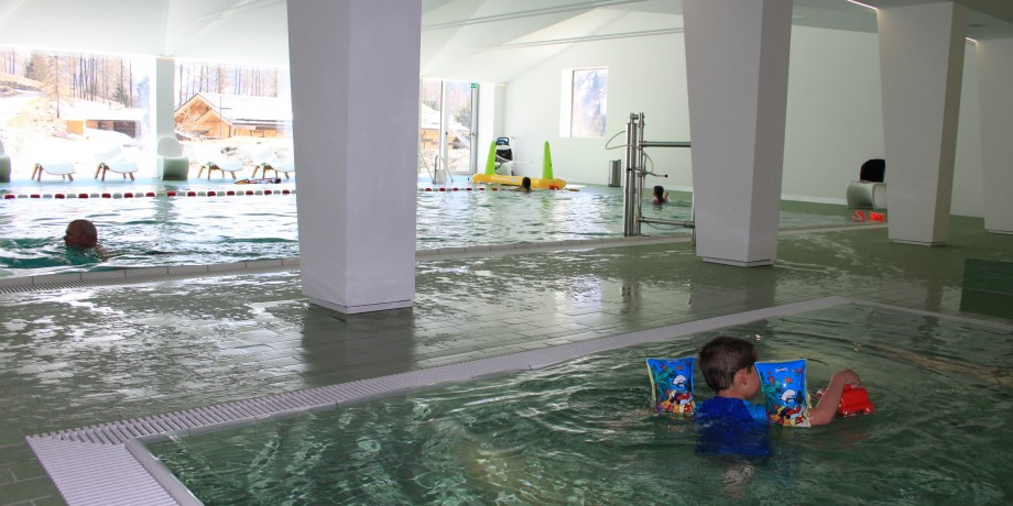 Indoor pool and Spa Zinal