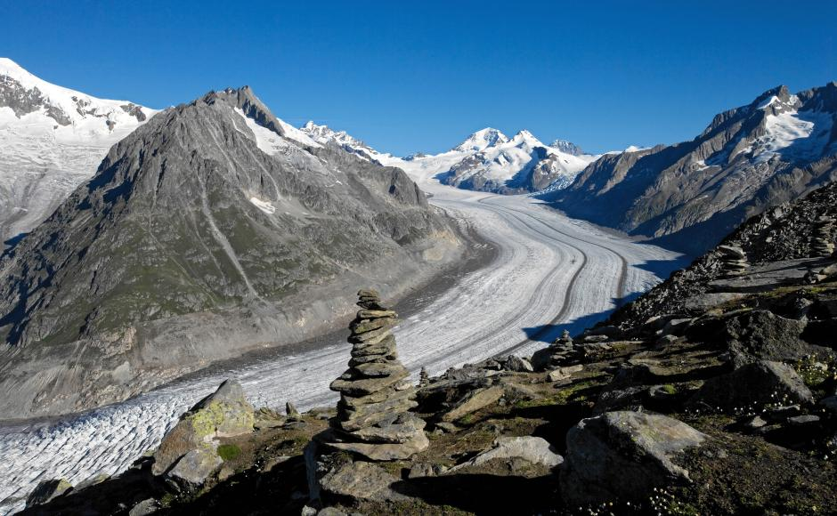 Grosser Aletsch Gletscher, Wallis