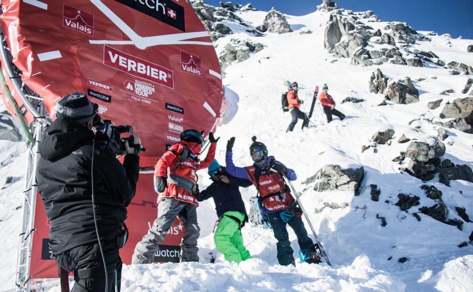 Swatch Xtreme Verbier 2015 by The North Face®, winter event, Valais