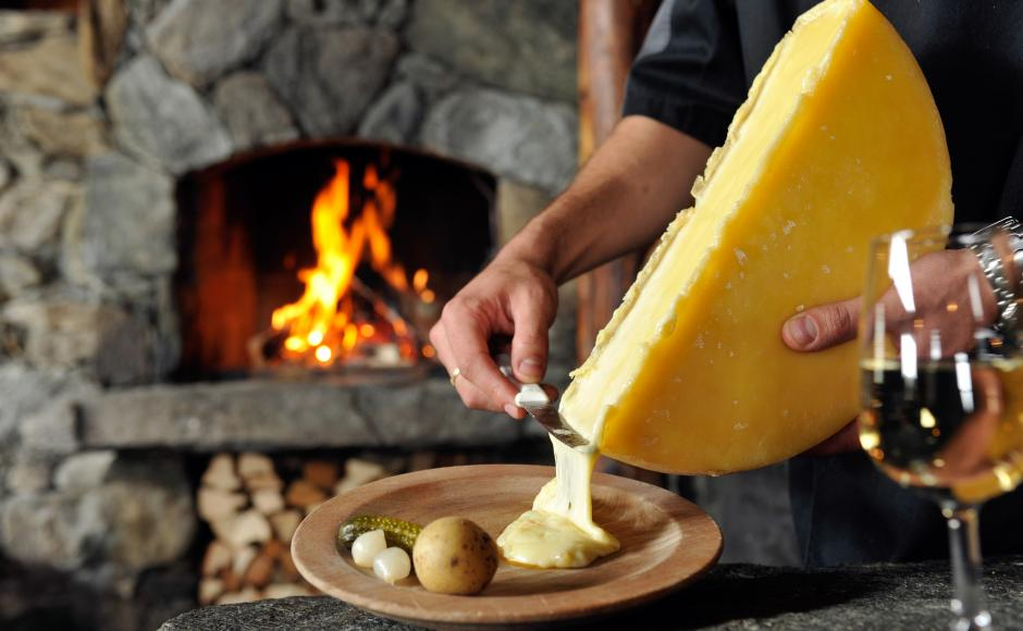 Raclette from Valais