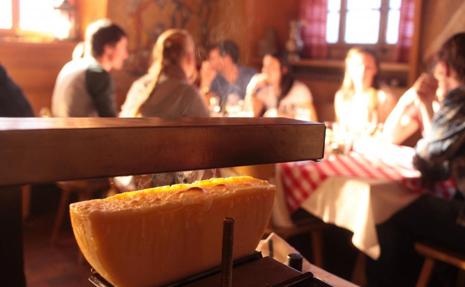 Raclette grill brand Valais