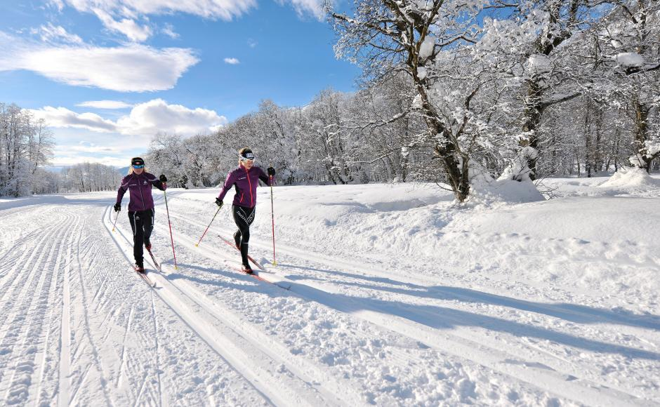 Cross-country skiing in Goms, Klassik