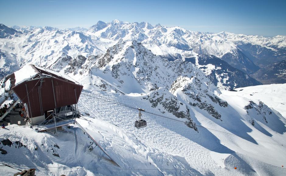 The most exciting ski runs, Mont-Fort
