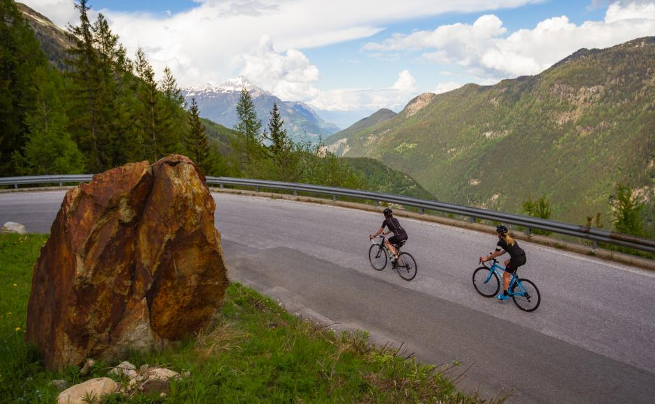 Valais Cycling Tour, Finhaut-Emosson, road cycling in Valais