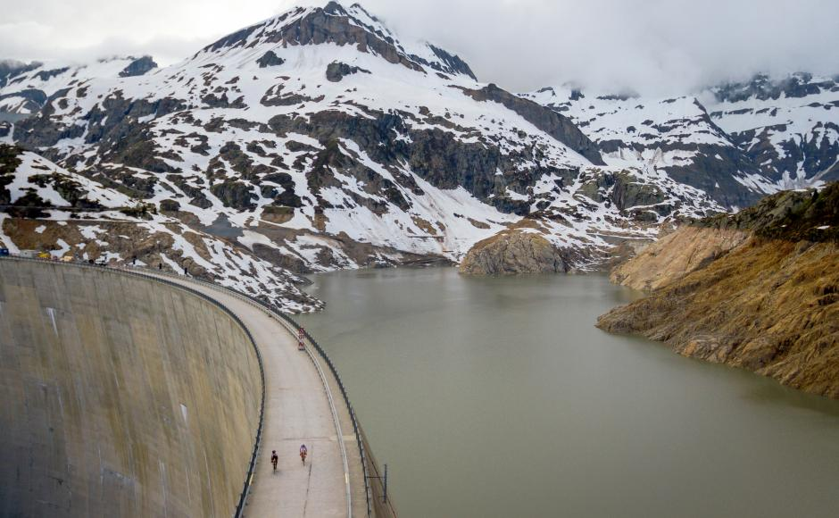 Valais Cycling Tour, Emosson dam, road cycling in Valais, Finhaut