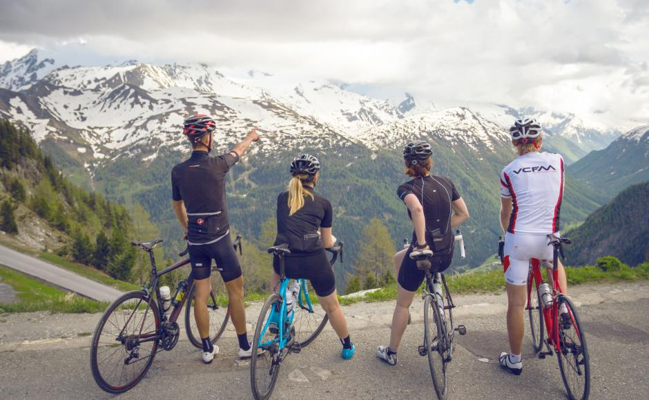 Valais Cycling Tour, road cycling, Finhaut-Emosson, dam