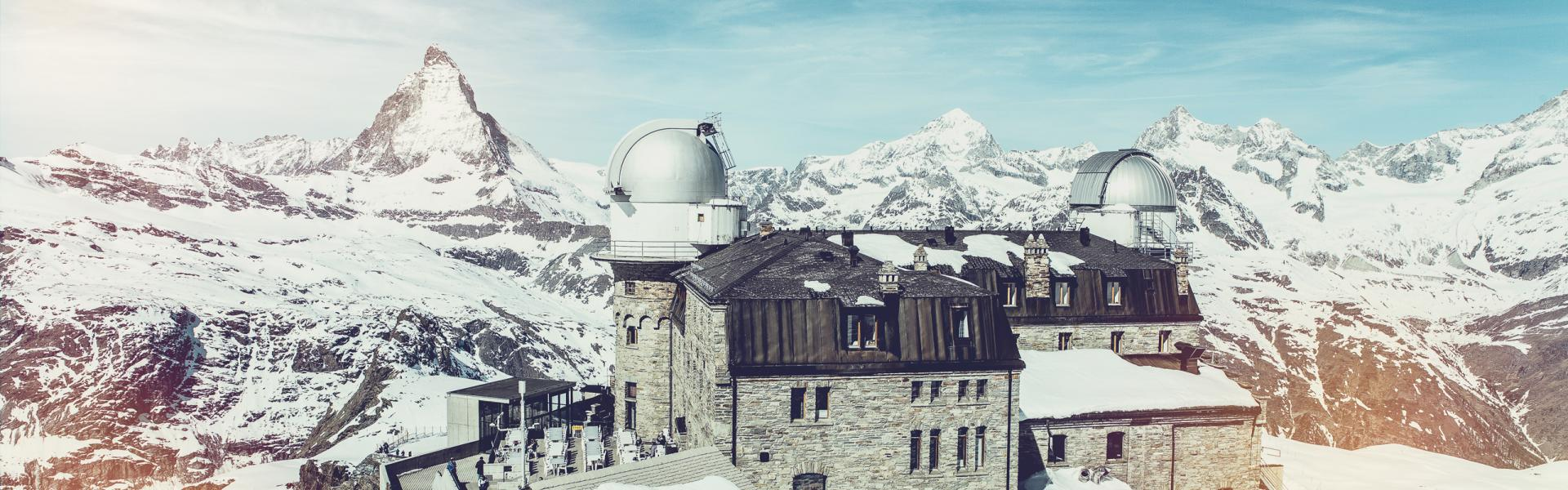 Gornergrat, Panorama con Cervino, Zermatt, Vallese
