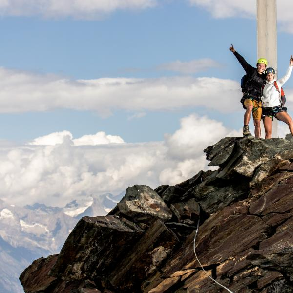 Go on a treasure hunt in Valais, holidays with children, family destination, Saas-Fee, Valais, Switzerland