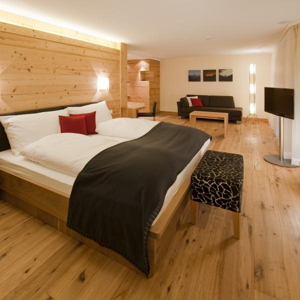 Suite Junior de l'hôtel Royal Art Furrer Riederalp, Valais