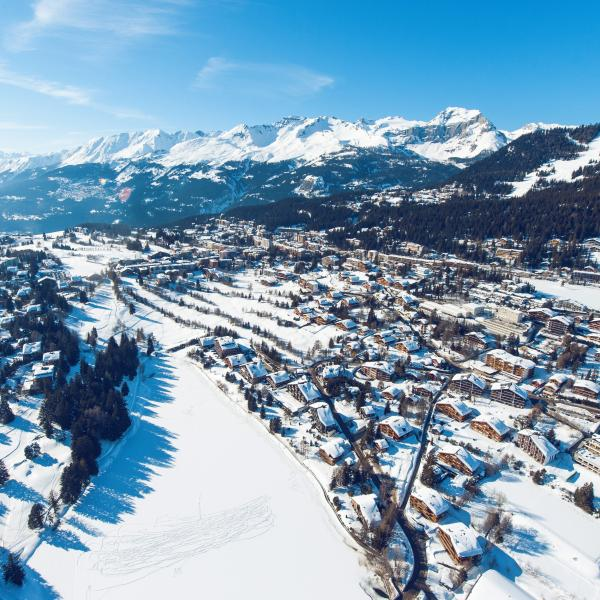 Winter in Crans-Montana, Valais
