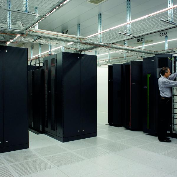 Data center, industrie valaisanne, Valais, Suisse